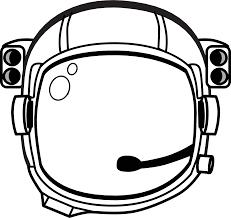 Clipart astronaut s helmet