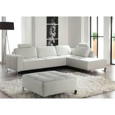 ottomane canapé canapé 3 places costa blanc ottomane droite les meubles mailleux
