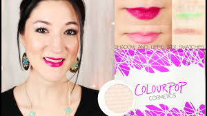 ColourPop Cosmetics Eye Shadow & Lippie Stix Swatches Huge Colourpop Haul Lipsticks Eyeshadows Foundation Palettes More Colourpop Blushes Tips And Tricks Demo How To Apply A Discount Or Access Code Your Order Colourpop X Eva Gutowski The Entire Collection Tutorial Swatches Review Tanya Feifel Ultra Satin Lips Lip Swatches Review Makeup Geek Coupon Youtube Dose Of Colors Full Face Using Only New No Filter Sted Makeup Favorites Must Haves Promo Coupon