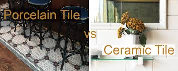porcelain tile vs ceramic tile