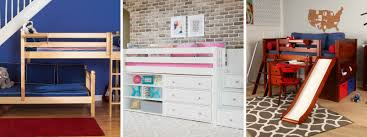 Low To The Ground Bunk Beds by Beds For Kids Rooms With Low Ceilings Maxtrix