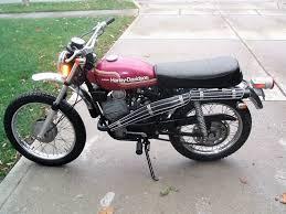 328 Mile Italian 1974 Harley Davidson SX 125