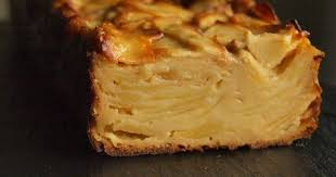 dessert aux poires leger gâteau invisible aux pommes sans gluten ni lactose a boire et