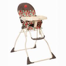 cosco flat fold high chair apple pie walmart com