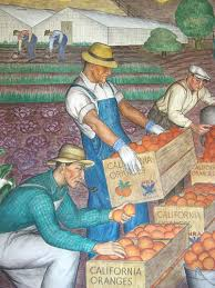 Coit Tower Mural City Life by 16 Coit Tower Murals Wpa Lucien Labaudt Murals Picture Of