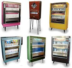 The Vintage Cigarette Machines Now Coughing Up Art