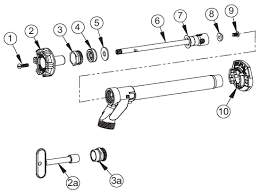 Woodford Faucet Handle Replacement by Woodford Outdoor Faucets Model 14 Repair Parts Diagrams