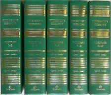 Spurgeons Sermons 5 Vol Set By Charles Haddon Spurgeon