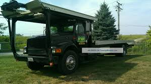 100 Tow Truck Flatbed 1997 International 4900