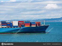 100 Shipping Containers San Francisco Colorful Freight On Ship Stock Photo Dbvirago 138597396