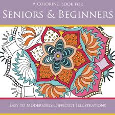 Unusual Ideas Design Coloring Books For Seniors Including Dementia And