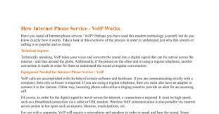 How Internet Phone Service Works.pdf - DocDroid Internet Phone Business Technology Solutions Simply Bits How Not To Lose Money On Phone Service Roseman Toronto Star Voip Cloud Service Networks Long Island Ny Sip Application Introductionfot Blog Sharing Hot Telecom Topics Cisco Spa122 Ata With Router Adapter 2 Fxs Reviews Compare Providers Free Bill Analysis Mynetfone Revealing The New And Affordable Obihai Obi110 Voice Bridge Telephone Adapter By Types Of Systems Callbox Internet Workspdf Docdroid