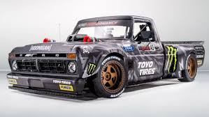Ken Block's Hoonitruck Is The World's Wildest 1977 Ford F-150 | Fox News Pick Em Up The 51 Coolest Trucks Of All Time Maverick X3 Max 2400 Hp Volvo Iron Knight Truck Is Worlds Faest Big Introduction Cyclocross Manual For Speed Sema 2017 Duramax Powered 1954 Chevrolet Landspeed Race Shockwave And Flash Fire Jet Media Relations 2021 Ram Rebel Trx 7 Things To Know About Rams Hellcatpowered In World Car Show Classic 2013 Historic Commercial Vehicle Club Annual Nikola Corp One