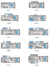 RV 2 Bathroom Floor Plans