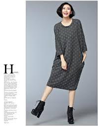 women u0027s dresses european style casual winter thick cotton black