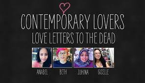 Love Letters to the Dead Liveshow ContemporaryLovers June Read a