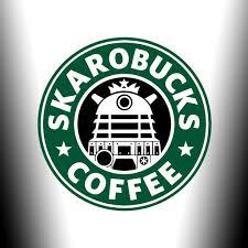 Skarobucks Doctor Who Starbucks Mashup Wallpapers