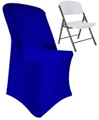 Royal Blue Lifetime Folding Spandex Chair Covers, Stretch ... Unique Bargains Stretchy Spandex Ruffled Skirt Short Ding Room Chair Covers Washable Removable Seats Protector Slipcovers For Wedding Party Purple Colour Lycra Universal Cover Decoration On Sale Banquet Arch Front Open To Buy Rent Table Linen By Linens Spandex Ruffled Shirred Cadburys Purple Spandex Chair Cover 4 Pcs Dark Stretch Cinglenspandex Chair Wedding Covers Ding 160gsm Lavender With Foot Pockets Lacys Rentals Denver Colorado Hi Bar Cloth