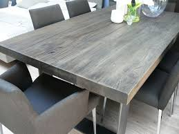 Rustic Dining Room Ideas Pinterest by Grey Rustic Dining Table Ispcenter Us