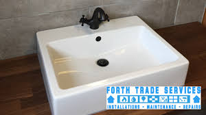 Slow Draining Bathroom Sink Uk by Bathroom Fitters Edinburgh Plumbers Edinburgh Heating