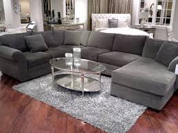 great contemporary light gray sectional sofa house remodel