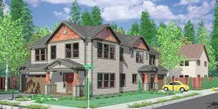 Small Narrow House Plans Colors House Front Color Elevation View For D 444 Corner Lot House Plans