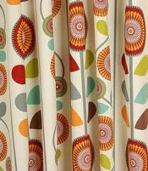 Material For Curtains And Blinds by Orange And Grey Curtain Fabric Abstract For Teenagers Curtain And