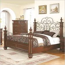 Wrought Iron And Wood King Headboard by Wood And Wrought Iron Bed Frames Bedroom Ideas Pinterest