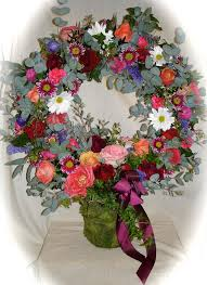 Wreath Of Funeral Flowers