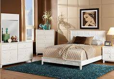 Rooms To Go Queen Bedroom Sets by Shop For A Lindsey Lane Cherry 7 Pc Queen Bedroom At Rooms To Go