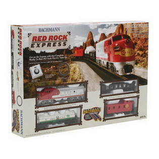 Bachmann HO Red Rock Express Toy Train Set