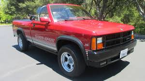 The 1989–91 Dodge Dakota Sport Convertible Was The Drop-top No One ...