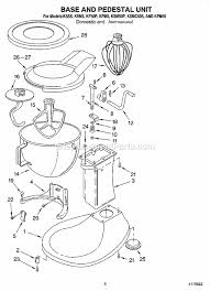 Parts List Model Kss Kitchenaid Mixer Refrigerators Blender Stand Diagram Diarra Wiring Mixerwnload Free