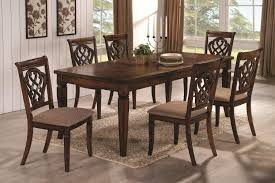 Upholstered Dining Chairs Set Of 6 by Dining Table Upholstered Chairs Lakecountrykeys Com