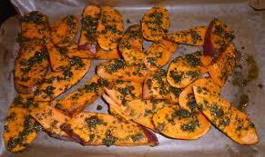 comment se cuisine la patate douce recette paléo patates douces au four