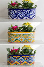 Best 25+ Talavera Pottery Ideas On Pinterest | Mexican Tiles ... Jenny Castle Design Outdoor Spring Things Creating An Inviting Fall Front Porch Pottery Barn Plant Stunning Planters For Sale On Really Beautiful Usa Home Decor Trwallpatingdiyenroomdecorpotterybarn Startling Blue Diy Cement Craft Diane And Dean My Patio Progress California Casual Hamptons Backyard Style Articles With Tuscan Tag Excellent 1 Brittany Garbage Can Shark Trash Vintage Mccoy Green
