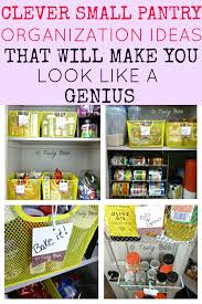 The Ultimate DIY Small Pantry Organization Ideas to Make your