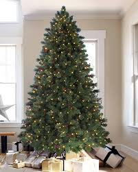 9 Ft Pre Lit Slim Christmas Tree by Biltmore Pine Artificial Christmas Tree Treetopia