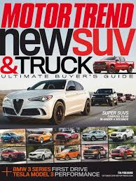 100 Motor Trend Truck Of The Year History Subscription