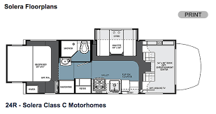 C Floor Plans by Everything You Need To About Class C Motorhomes