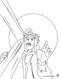 Jesus Christs Crown Of Thorns Coloring Page