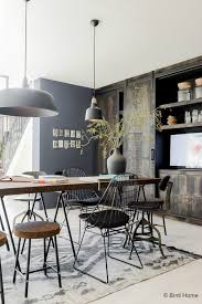 how to create an industrial dining room decoholic home