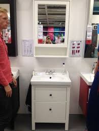 Ikea Hemnes Bathroom Series by Ikea Hemnes Sink Cabinet Combo Faucet From Ikea Knobs From Cost