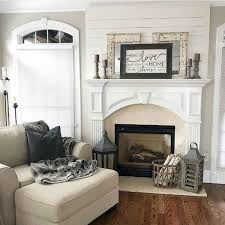 40 Awesome Fireplace Makeover For Farmhouse Home Decor