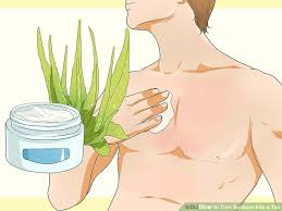 how to turn sunburn into a tan 12 steps with pictures wikihow