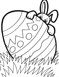 Easter Coloring Pages Printable Throughout For Kids Games