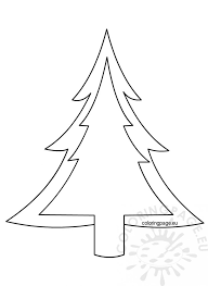 Coloring Pages Tree With