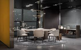 100 Minotti Dining Table IMM Cologne 2018 Morgan Marble Table Aston Chair