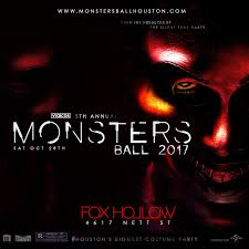 Halloween Monster Names List by Monsters Ball Saturday Oct 28th The Ultimate Halloween Costume