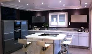 cuisine en l avec ilot central cuisine amenagee design cuisine avec ilot central arthur bonnet